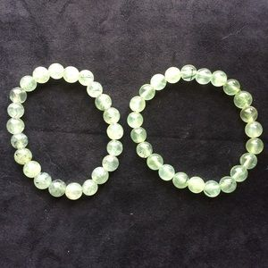 Jewelry - Prehnite Stretch Bracelet